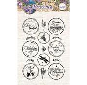 Studio Light Transparante Stamps, 15 vakken