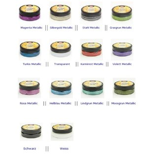 3D Stempelfarbe: Auswahl aus 14 Farben