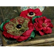 Prima Marketing und Petaloo Petaloo Flowers, red - Only a few on stock!