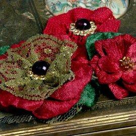 Prima Marketing und Petaloo fleurs Petaloo, rouge - seulement quelques disponibles!