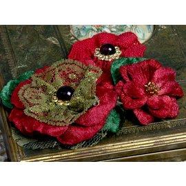 Prima Marketing und Petaloo flores, rojo Petaloo - sólo unos pocos disponibles!