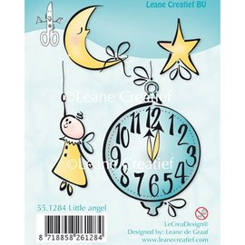 Leane Creatief - Lea'bilities und By Lene Transparent Stempel, kleiner Engel