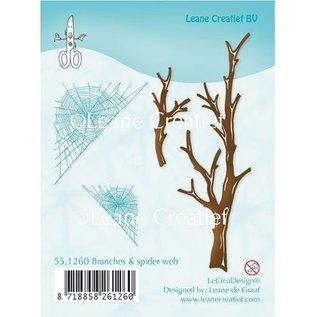 Leane Creatief - Lea'bilities und By Lene Transparent Stempel, Zweige und Spinnewebe