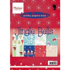 BASTELZUBEHÖR, WERKZEUG UND AUFBEWAHRUNG Julen projekt! Designer Block, A5, Jingle Bells