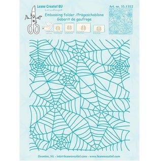 Leane Creatief - Lea'bilities und By Lene Prägefolder: Spinnewebe Muster