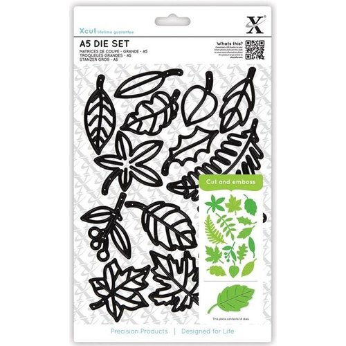 Docrafts / X-Cut Cutting and embossing stencils Xcut Large: Leaves