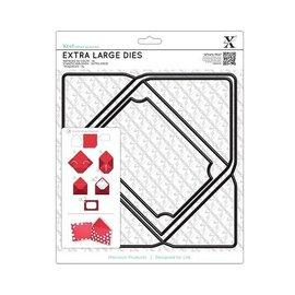 Docrafts / X-Cut matrices de corte A4 ESPECIAL, Extra Grande (1 unidad), sobres