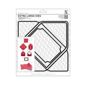 Docrafts / X-Cut SPECIAL A4 stansmessen, Extra Large (1 st), envelop
