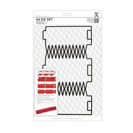 Docrafts / X-Cut SONDERANGEBOT A4 Stanzschablone (1Stk), Geschenk Schachtel: Weihnachtscracker