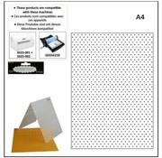 embossing Präge Folder A4 embossing folders: points