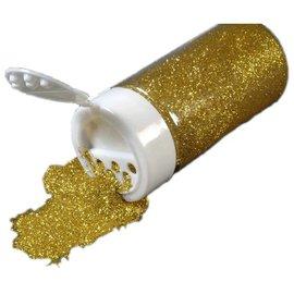 BASTELZUBEHÖR, WERKZEUG UND AUFBEWAHRUNG Glitter in eine Streudose 14g, gold