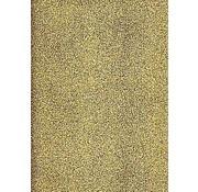 Sticker A4 sticker sheet: glitter, gold
