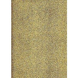 Sticker A4 stickervel: glitter, goud