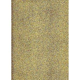 STICKER / AUTOCOLLANT A4 stickervel: glitter, goud