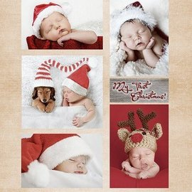 Nellie Snellen Hoja Decoupage Bebés de la Navidad de la vendimia