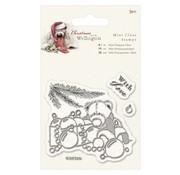 Papermania Gennemsigtige frimærker, Wellington Bjørn jul
