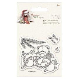 Papermania I timbri trasparenti, Wellington Orso Natale