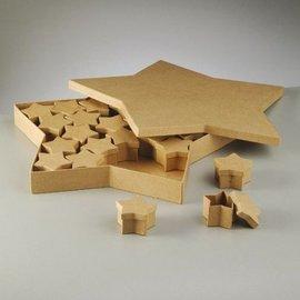 Objekten zum Dekorieren / objects for decorating Oggetti da decorare, scatole set, Stella