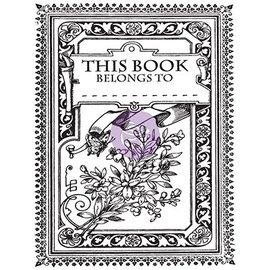 Prima Marketing und Petaloo Gennemsigtige frimærker, Princess, Kouvert Mini bog
