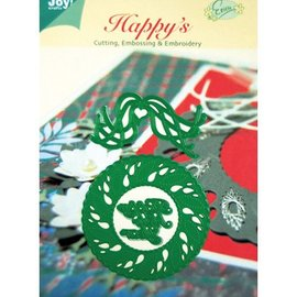 Joy!Crafts / Jeanine´s Art, Hobby Solutions Dies /  Punching and embossing templates, christmas wreath