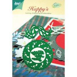Joy!Crafts / Jeanine´s Art, Hobby Solutions Dies /  Stansning og prægning skabeloner, jul krans