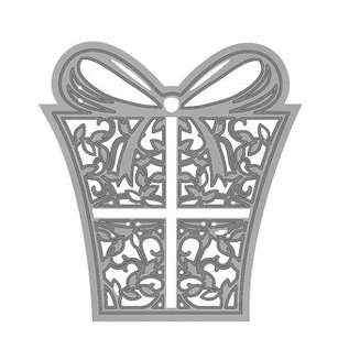 Tonic Studio´s Snij- en embossingmal / sjabloon, cadeau
