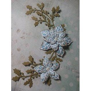 CREATIVE EXPRESSIONS und COUTURE CREATIONS Couper et gaufrer des pochoirs, des feuilles et des fleurs (CED3010)