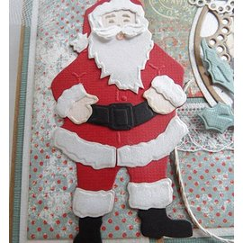 Marianne Design Cutting en embossing stencils, Santa Claus