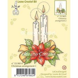 Leane Creatief - Lea'bilities und By Lene Gennemsigtige frimærker, stearinlys
