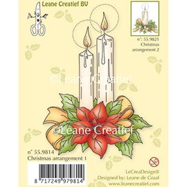 Leane Creatief - Lea'bilities und By Lene Transparent stamps, candles