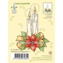 Leane Creatief - Lea'bilities und By Lene Transparante stempels, kaarsen