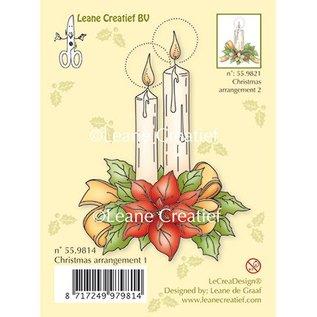 Leane Creatief - Lea'bilities und By Lene Transparent Stempel, Kerzen