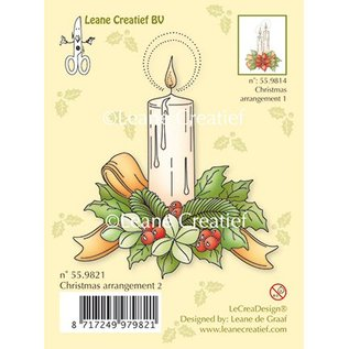 Leane Creatief - Lea'bilities und By Lene Gennemsigtige stempler et stearinlys