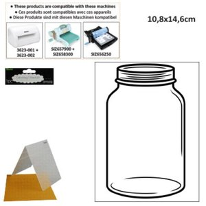 DARICE Prägefolder: Glas