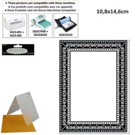 embossing Präge Folder Relieve carpetas, con el marco