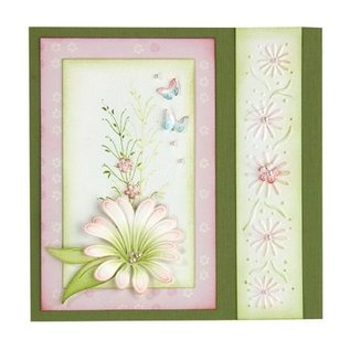 Leane Creatief - Lea'bilities und By Lene Transparent stamps, branch with leaves