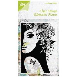 Joy!Crafts / Jeanine´s Art, Hobby Solutions Dies /  Gjennomsiktige frimerker, Silhouette kvinner