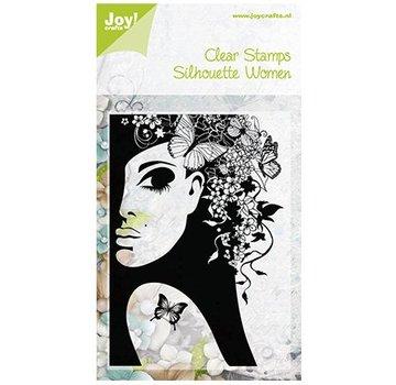 Joy!Crafts / Jeanine´s Art, Hobby Solutions Dies /  Gennemsigtige frimærker, Silhouette Kvinder