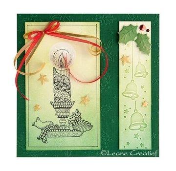 Leane Creatief - Lea'bilities und By Lene Emboss.templ, Borde: Christmas bells