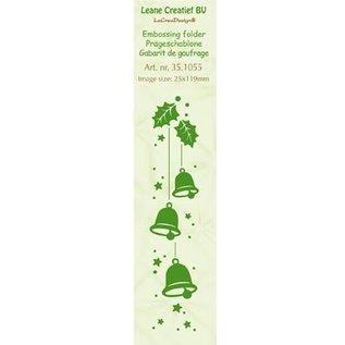 Leane Creatief - Lea'bilities und By Lene Emboss.templ, Borde: kerstklokken