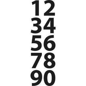 Marianne Design Stanz- und Prägeschablonen, kleine Zahlen