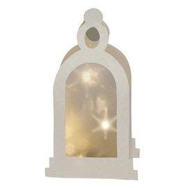 Schablonen, für verschiedene Techniken / Templates Plastic Mask 3D lantern, Size: 21 x 30 cm