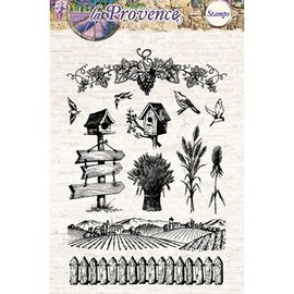 Studio Light Clear stamps, La Provence