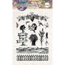 Studio Light Gennemsigtige frimærker, La Provence