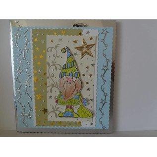 Leane Creatief - Lea'bilities und By Lene Doodle Stempel, Weihnachtsmann