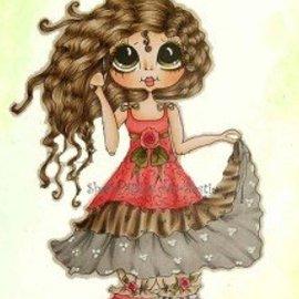 My BESTIES I miei Besties-Rose una campana, timbri trasparenti