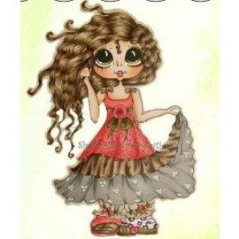 My BESTIES Mi Besties-Rose Una campana, sellos transparentes