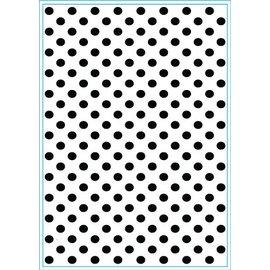 embossing Präge Folder Carpeta de Repujado con muchos puntos