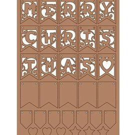 Pronty Kraftliner, décoration de Noël