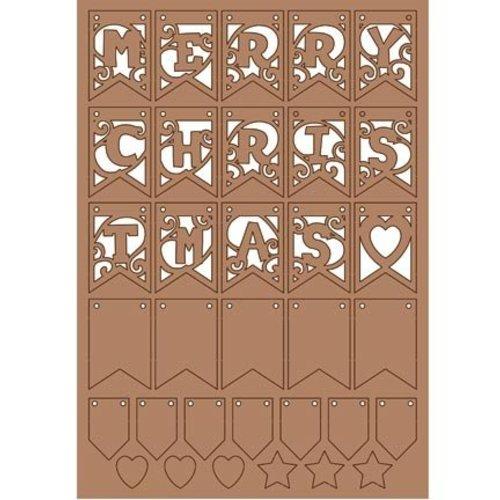 Pronty Kraftliner, Weihnachtliche Dekoration